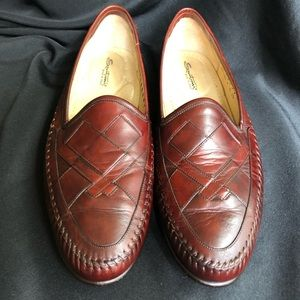 Santoni Italian Leather Loafers Made in Italy 13-D